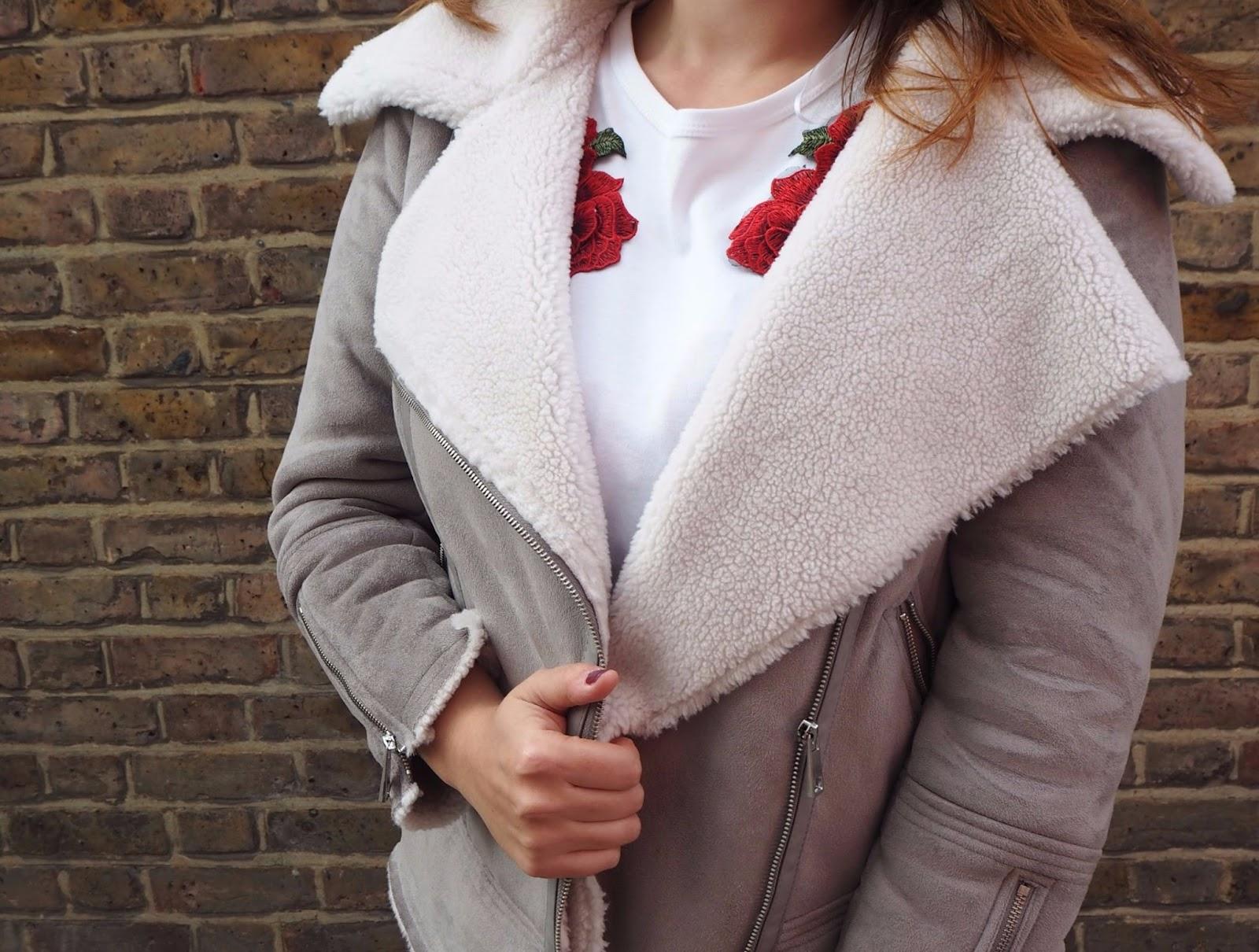 Close up of coat