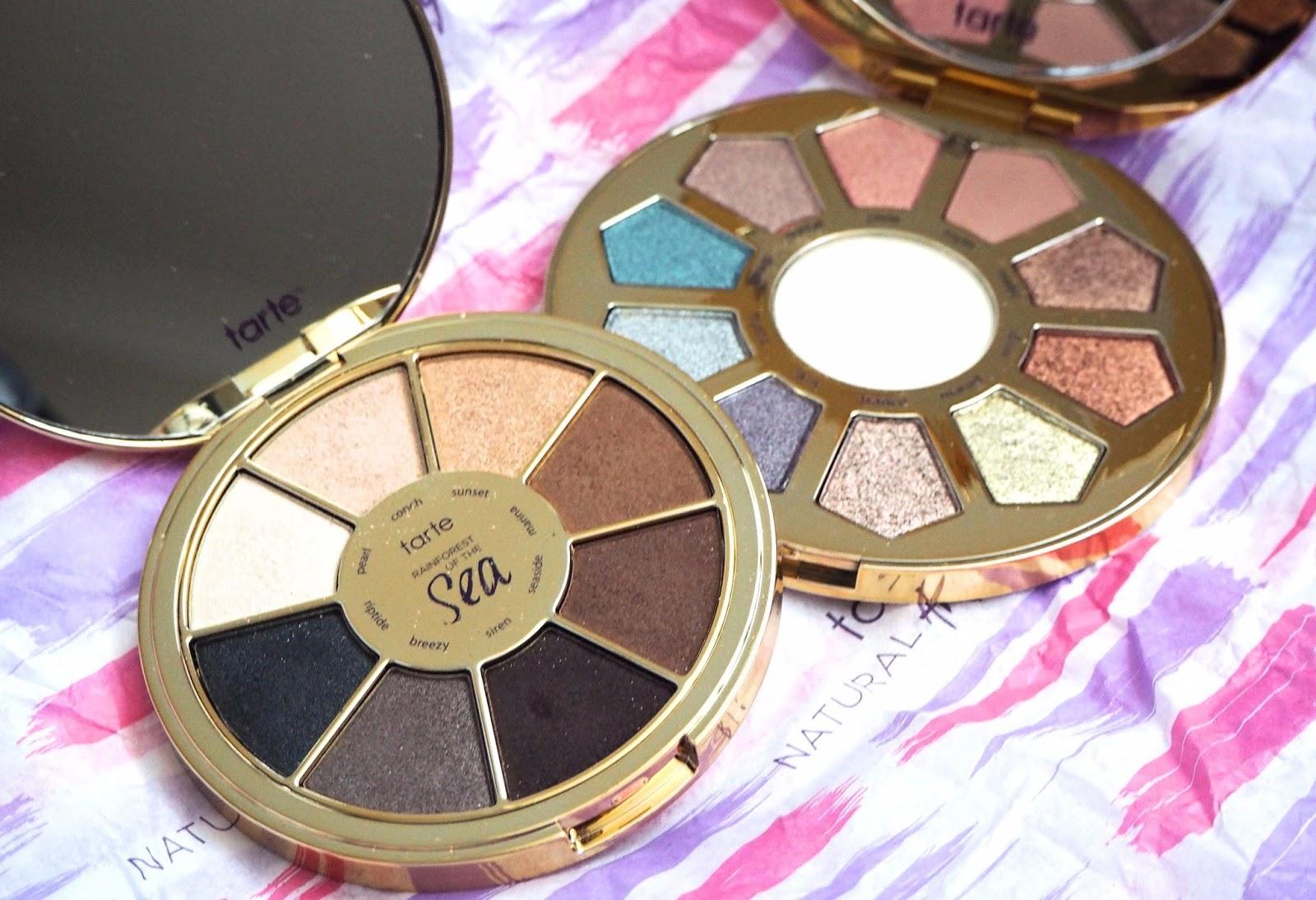 Tarte Eyeshadow Palettes