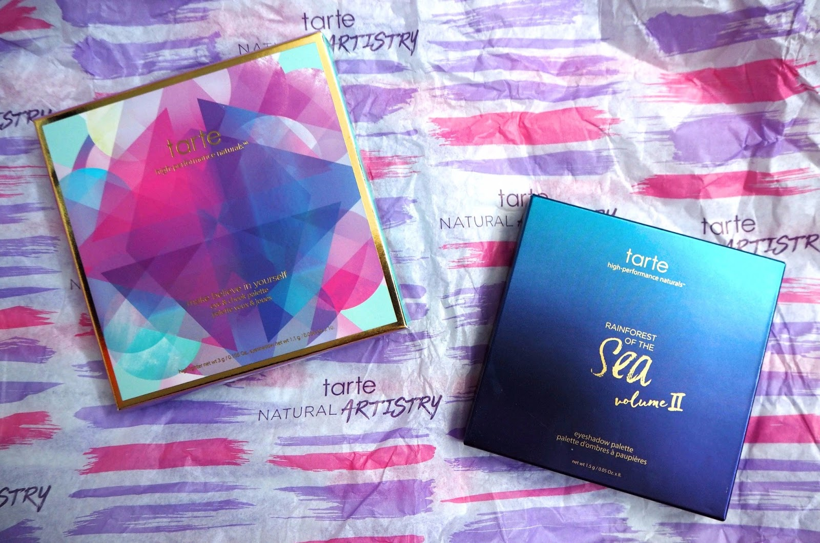 Tarte Cosmetics Packaging