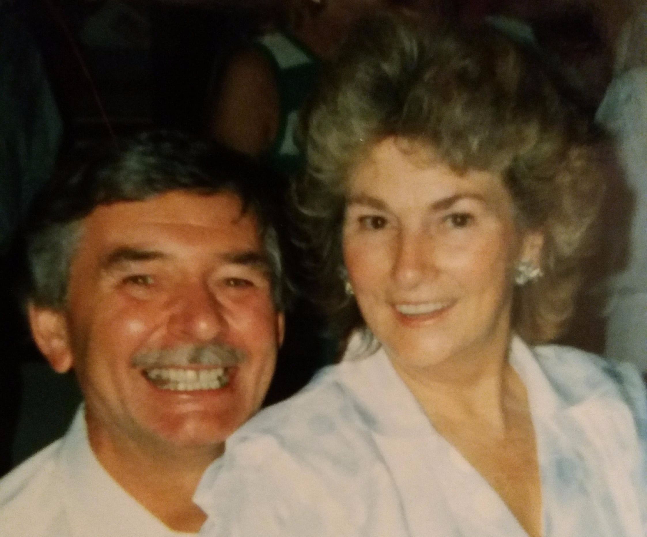 Vintage Photo of Auntie May & Uncle Arthur