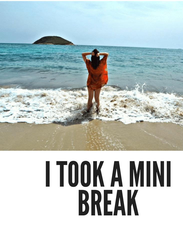 I Took A Mini Break