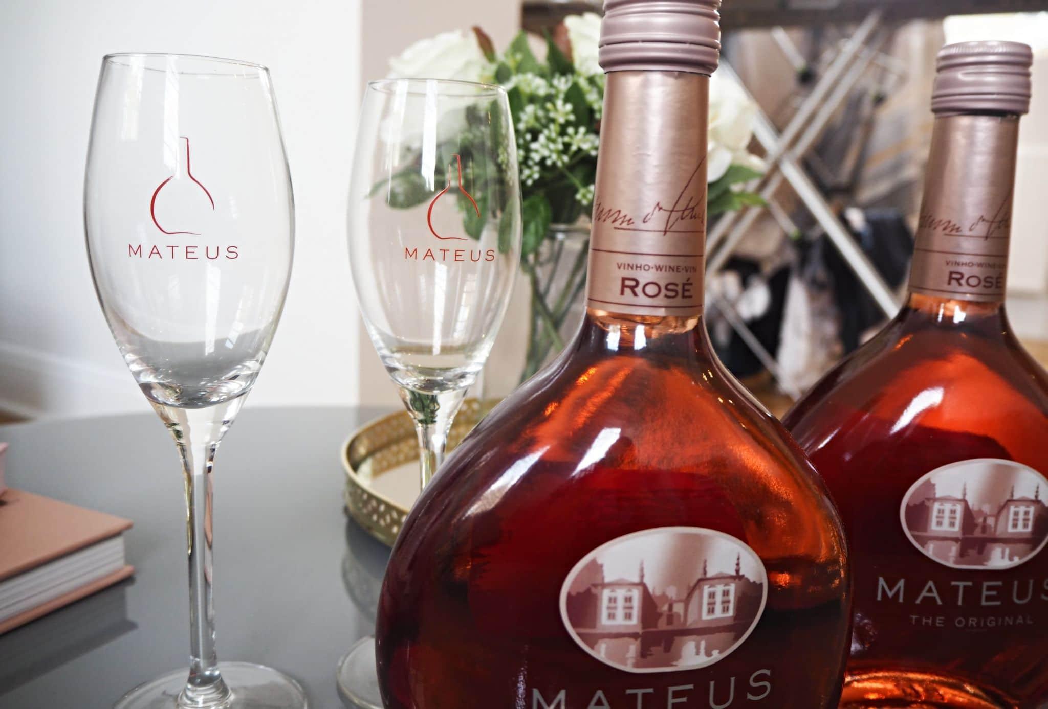 Mateus Wine Glasses