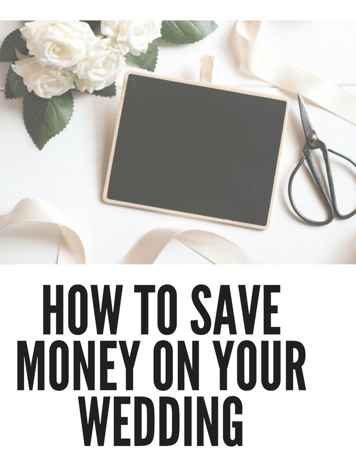Saving Money On Weddings