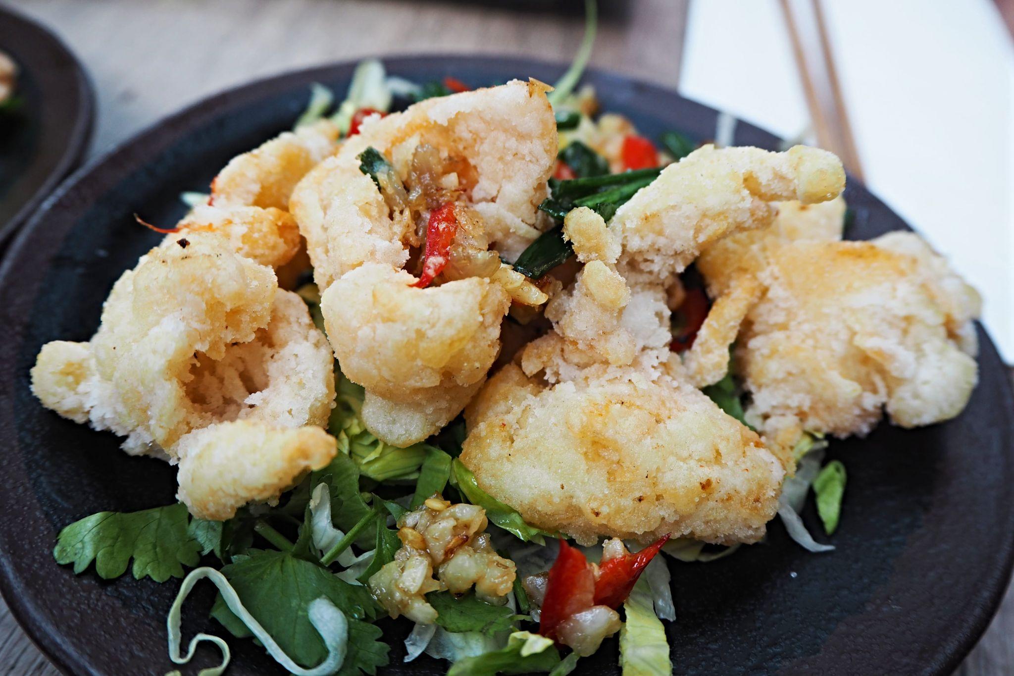 Mon Rang Muoi Squid