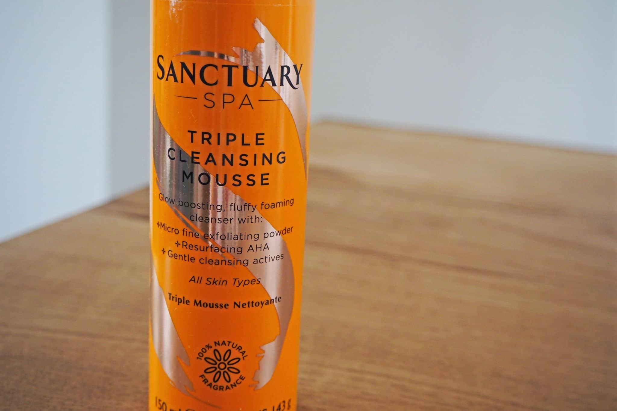 Triple Cleansing Mousse Sanctuary Spa