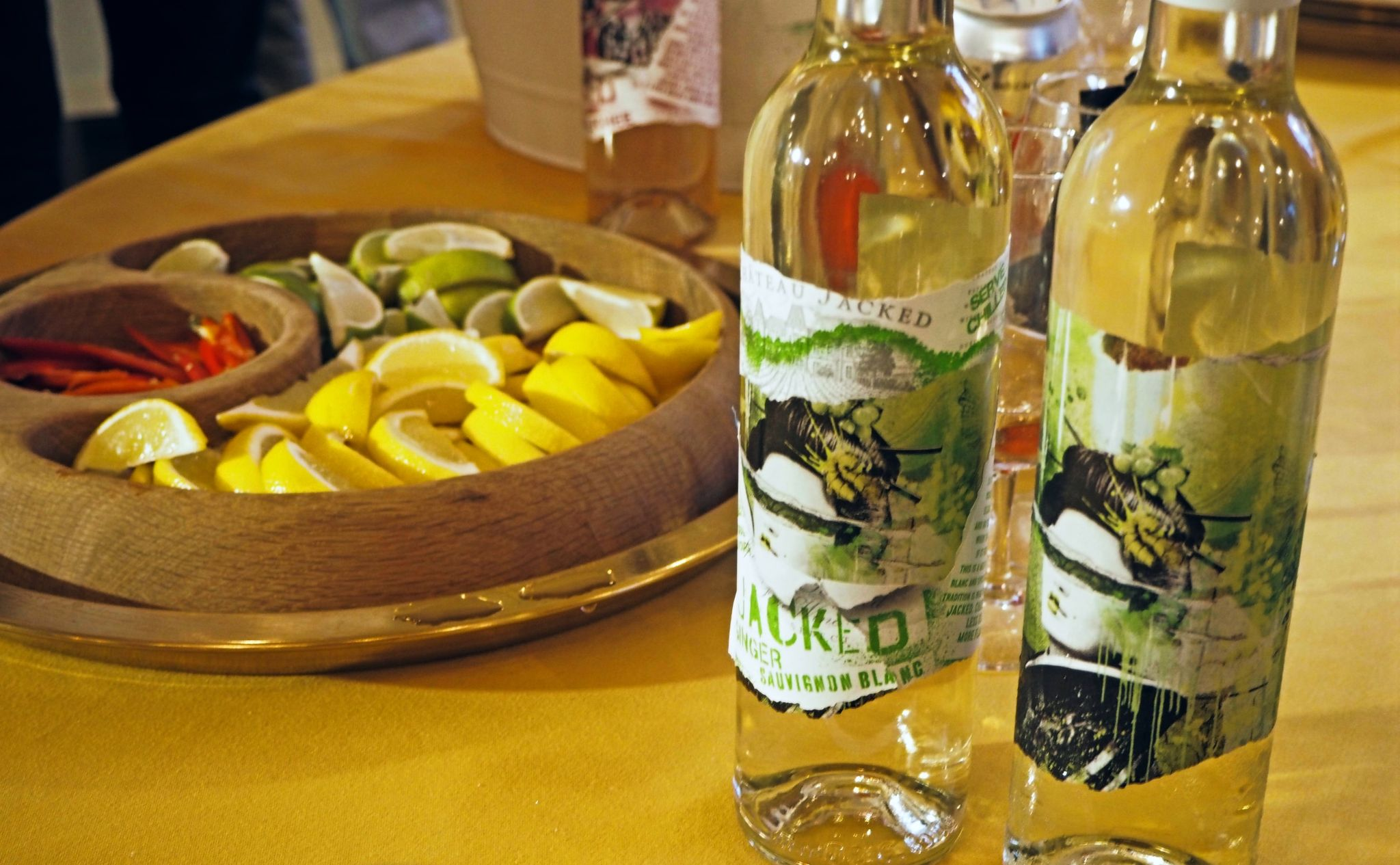 Jacked White Wine