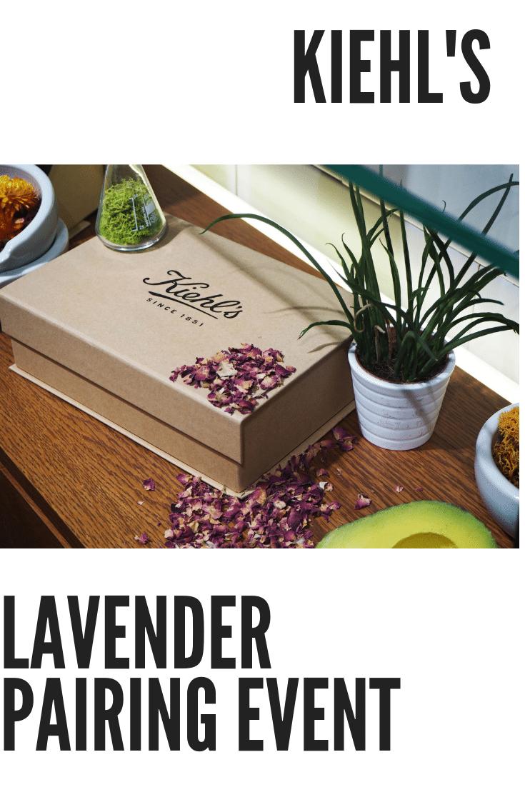 Kiehls Lavender Event