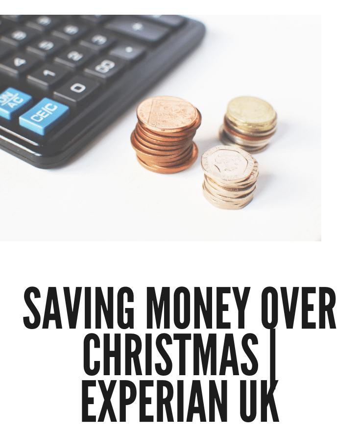Saving Money Experian