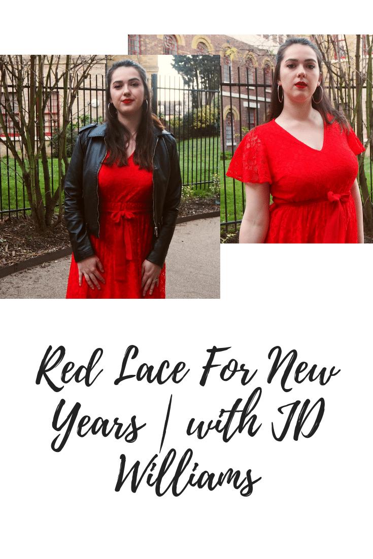 JD Williams Lovedrobe Lace Midi Dress