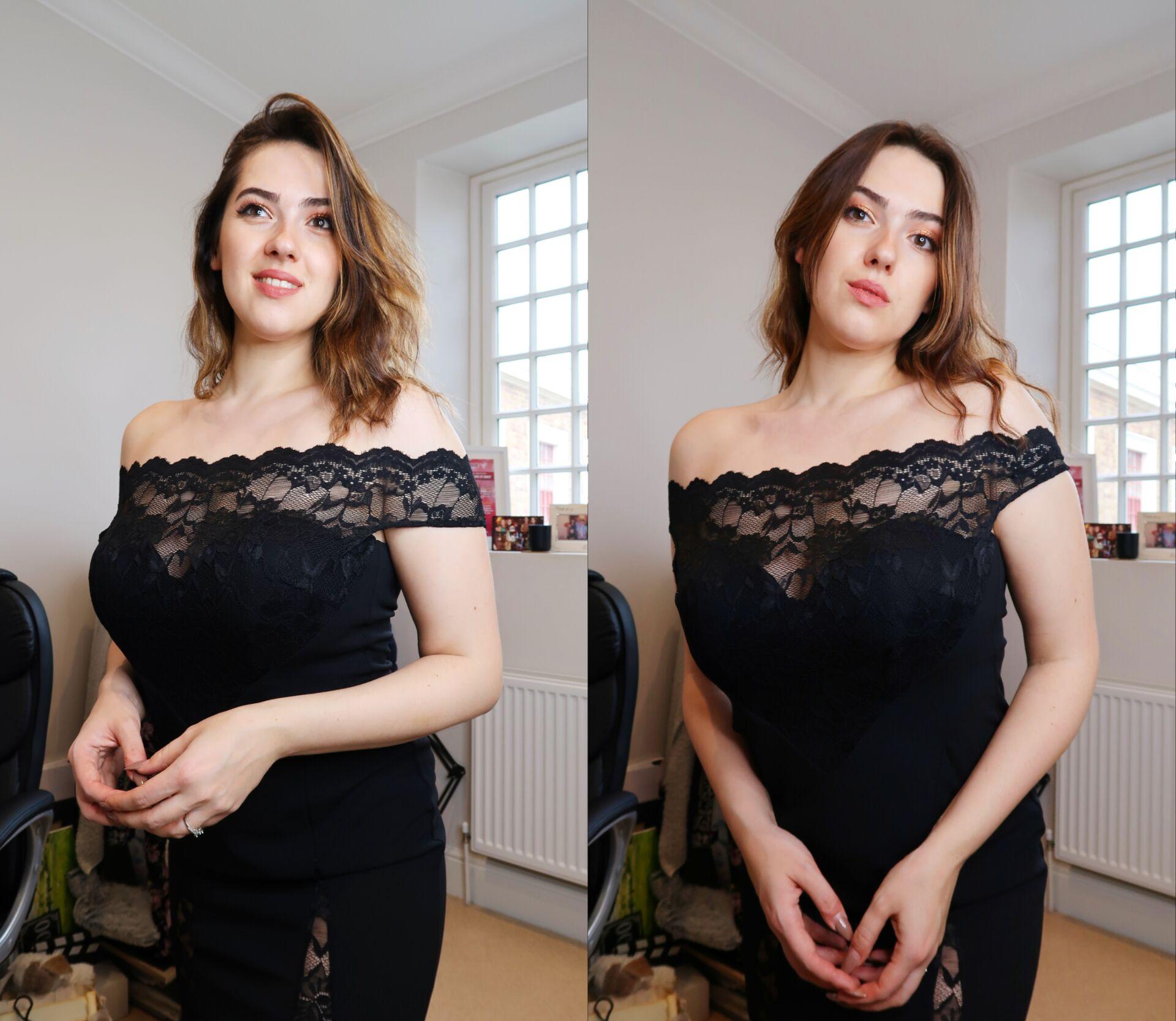 Goddiva Dresses Off The Shoulder